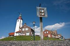 набережная fishingvillage нидерландская старая Стоковое Изображение