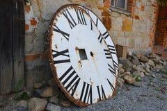 Набирает старую башню с часами Стоковые Изображения RF