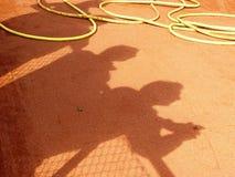 наблюдатели тенниса Стоковое Изображение