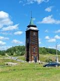 Наблюдательная вышка крепости Полная высота здания больше в чем 20 метров стоковая фотография