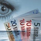наблюдать евро Стоковая Фотография RF