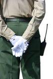 Наблюдение агента безопасности Стоковые Фотографии RF