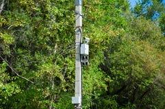 Наблюдение камеры слежения движения Стоковая Фотография