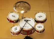 Набор барабанчика джаза Стоковые Изображения RF
