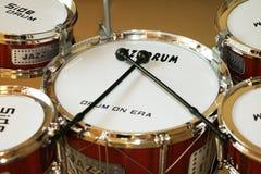 Набор барабанчика джаза Стоковая Фотография RF