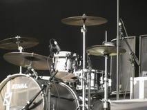 Набор барабанчика на этапе в Brugge Стоковая Фотография RF