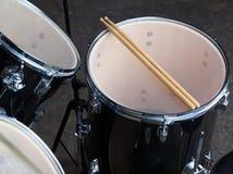 набор барабанчика старый Стоковая Фотография RF