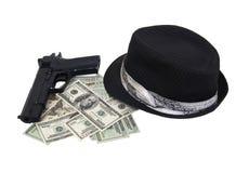 набор гангстера Стоковые Фото