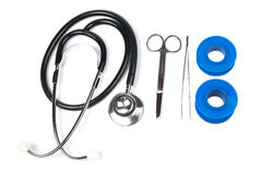 набор медицинский стоковое изображение rf