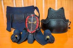 Набор оборудования kendo Стоковые Изображения RF