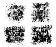 Набор чернил пятен стоковые изображения rf