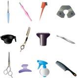 набор hairdressing бесплатная иллюстрация