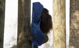Наблюдательный орангутан просматривая свою окружающую среду Стоковое фото RF