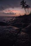 наблюдать захода солнца Стоковое фото RF