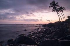 наблюдать захода солнца Стоковая Фотография RF