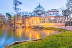 Наблюдать кристаллическим дворцом Стоковое фото RF