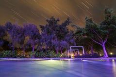 Наблюдать дождь метеора Стоковые Изображения