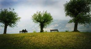 Наблюдать озеро Стоковое Фото