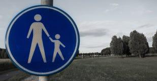 Наблюдение знака родительское Стоковое фото RF