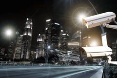 Наблюдение камеры слежения движения Стоковые Фото