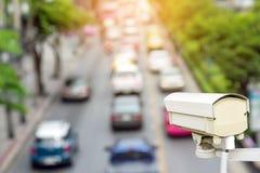Наблюдение камеры слежения движения (CCTV) Стоковое Изображение RF