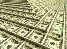 наваливает деньги Стоковые Изображения RF