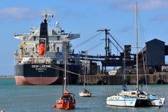 Навальная несущая Port Elizabeth руды Стоковое Изображение RF