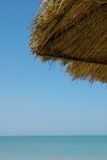 навес детали пляжа Стоковое Фото
