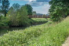 Наведите над Green River 2 Стоковые Фотографии RF