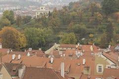 наведите республику prague рассвета charles чехословакскую стоковая фотография