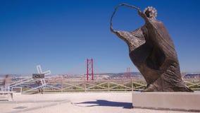Наведите соединять город Лиссабона к акции видеоматериалы