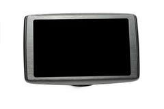 Навигатор GPS с черным экраном Стоковое Изображение