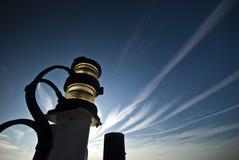 Навигационный свет на борту корабля Стоковое Изображение RF