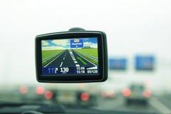 навигация автомобиля Стоковое фото RF