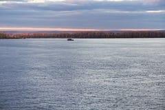 Навигация в самаре на Реке Волга Стоковая Фотография RF