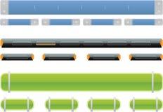 навигация икон Стоковые Изображения RF
