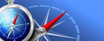 Навигация предпосылки сети предпосылки компаса иллюстрация вектора