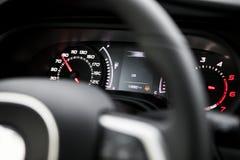 навигация приборной панели пульта автомобиля электронная Стоковая Фотография RF