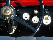навигация приборной панели пульта автомобиля электронная Стоковые Изображения RF
