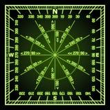 навигация решетки Стоковая Фотография