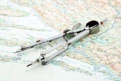 навигация Стоковое Изображение