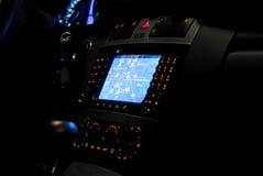 навигация gps автомобиля Стоковые Изображения RF