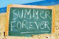 навсегда лето Стоковые Изображения RF