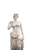 Нагая женская статуя декоративная Стоковое Изображение
