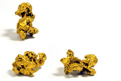 Наггеты золота Стоковое фото RF