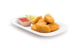 наггеты цыпленка стоковое фото rf