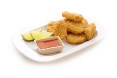 наггеты цыпленка стоковые изображения rf