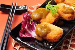 Наггет тофу Стоковая Фотография