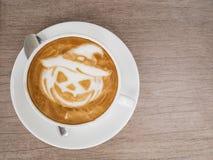 Нагнетая кофе хеллоуина Стоковое Фото