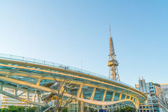 НАГОЯ, ЯПОНИЯ - 7-ОЕ ФЕВРАЛЯ: Оазис 21 в Нагое, Японии 7-ого февраля 201 Стоковое Фото